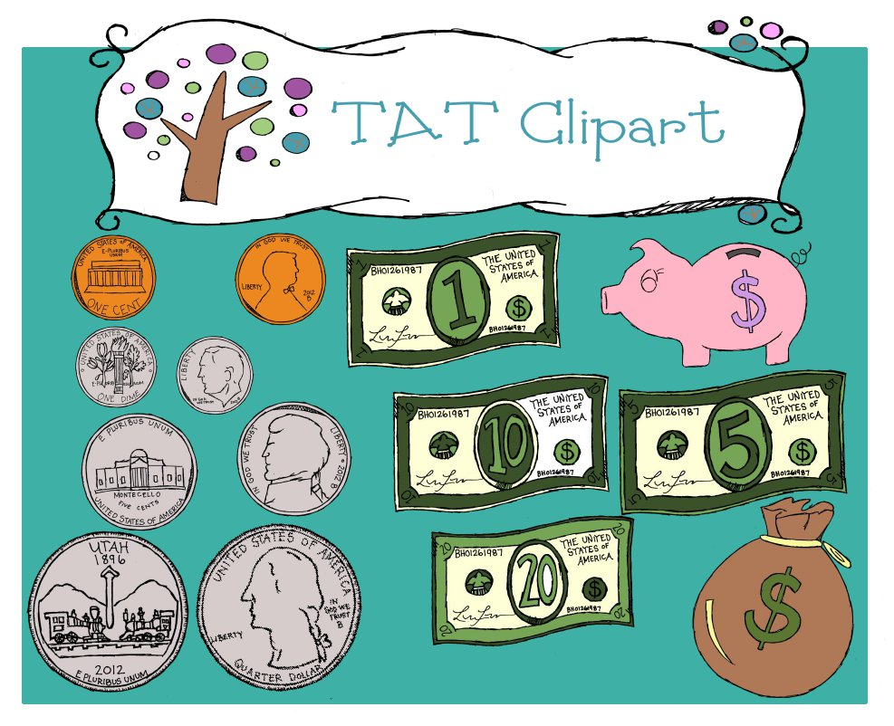 TATClipart: Money Clipart.
