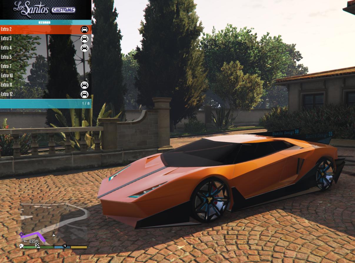 Enligia volitan (pegassi volitan) Lamborghini concept.