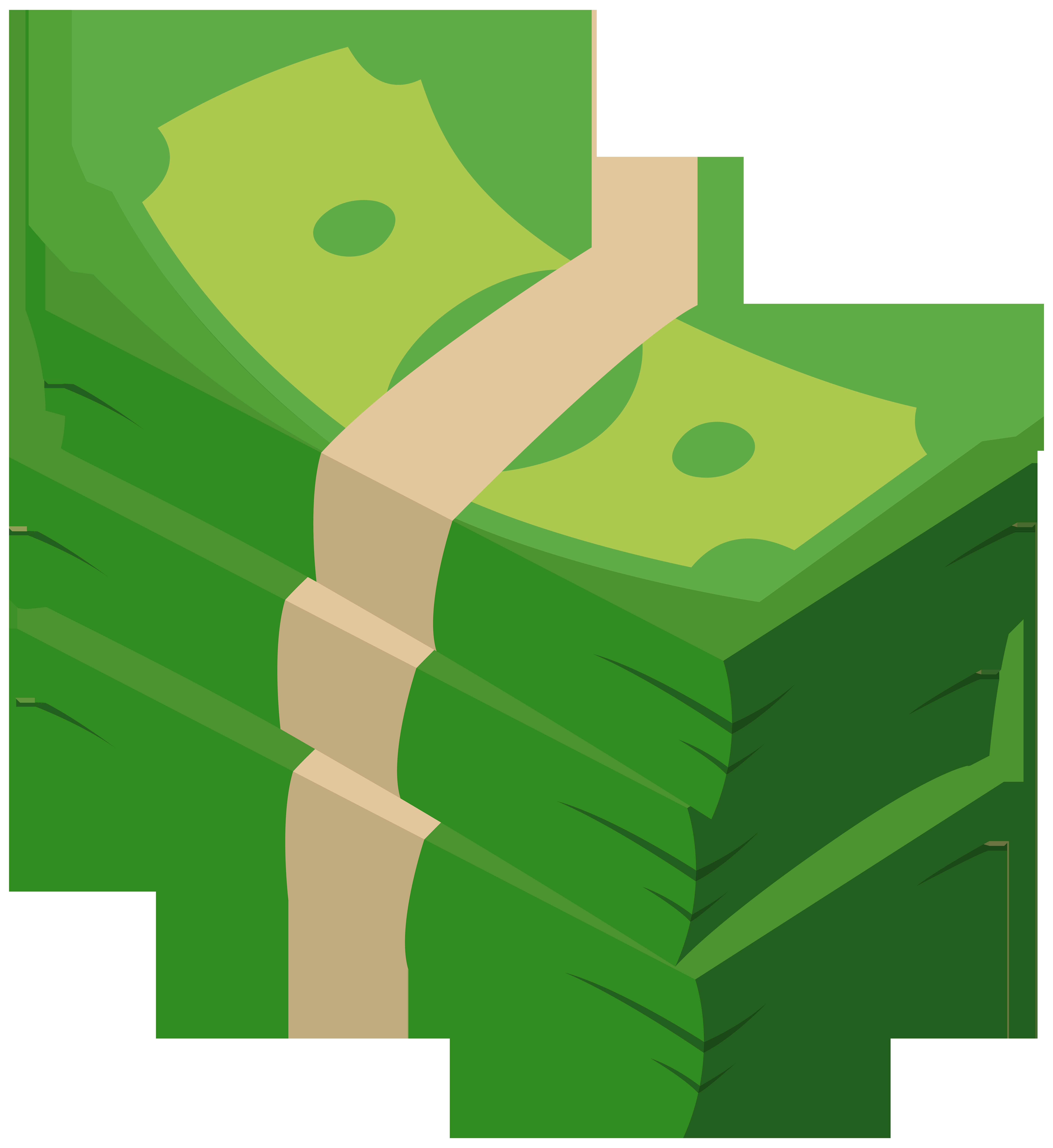 Money Illustration Transparent PNG Clip Art Image.