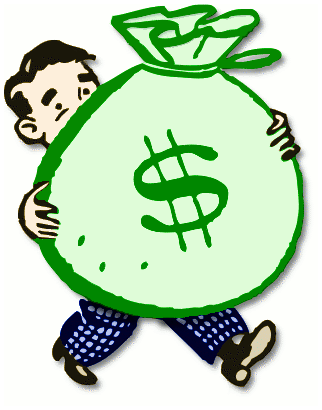 bag of money.