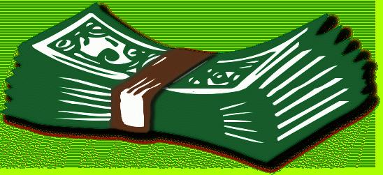 Transparent Money Cliparts.
