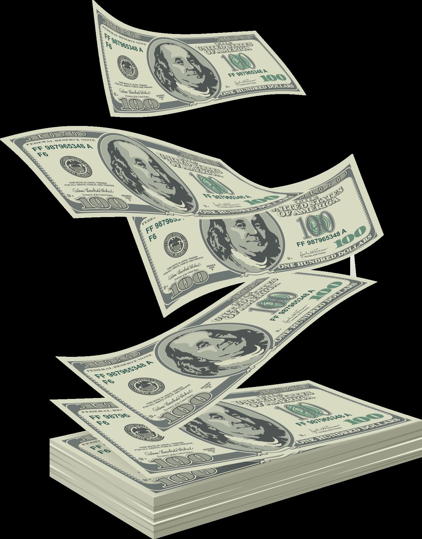 Money Drop Png Clipart Transparent Background.