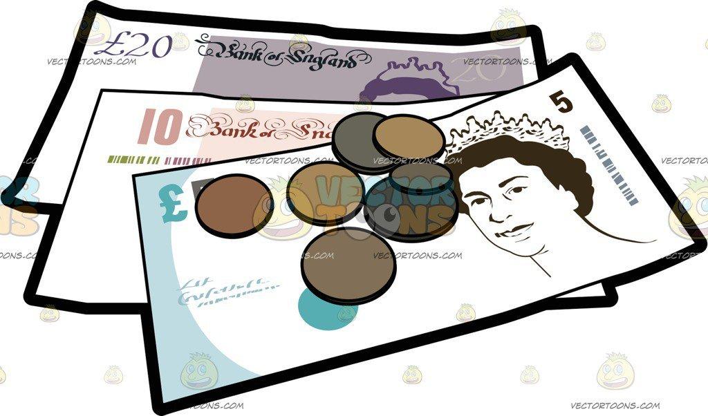 Uk money clipart 1 » Clipart Portal.