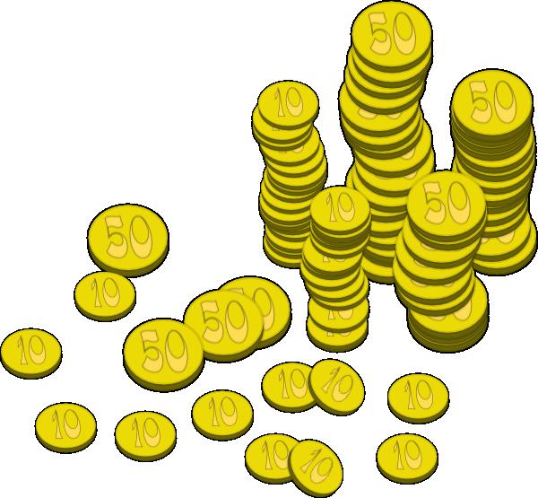 Coins Money Clip Art at Clker.com.