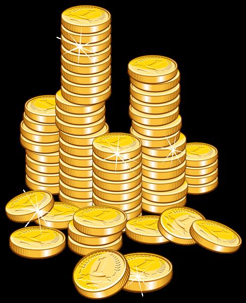 Money Coins Clipart.