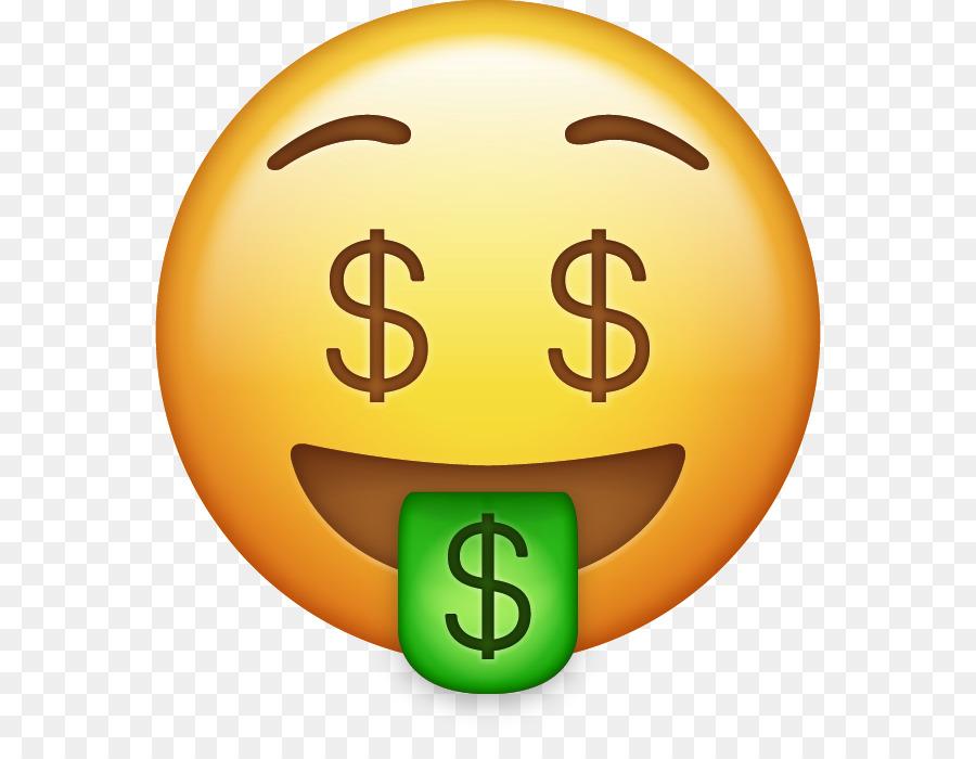 Money Emoji clipart.
