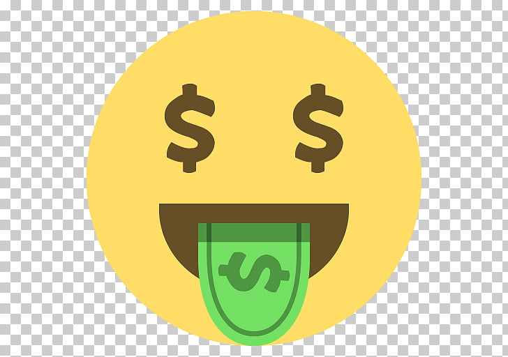Emoji Dollar sign United States Dollar Money, Emoji PNG.