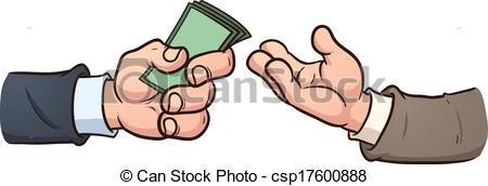 Vector of Money exchange.