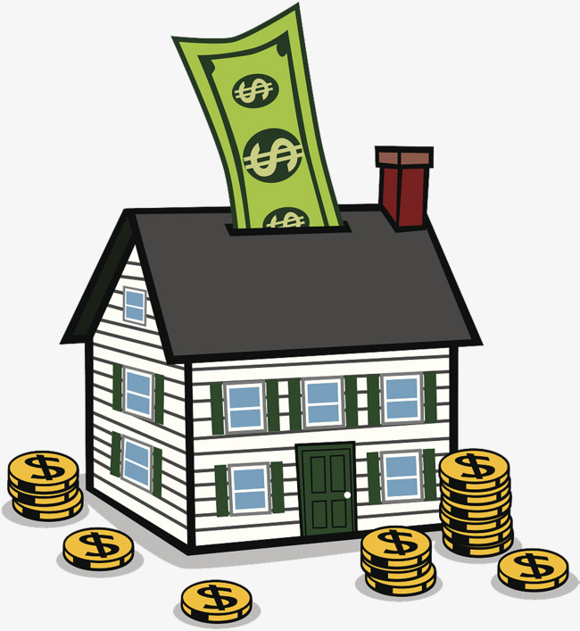 House Money Clipart.