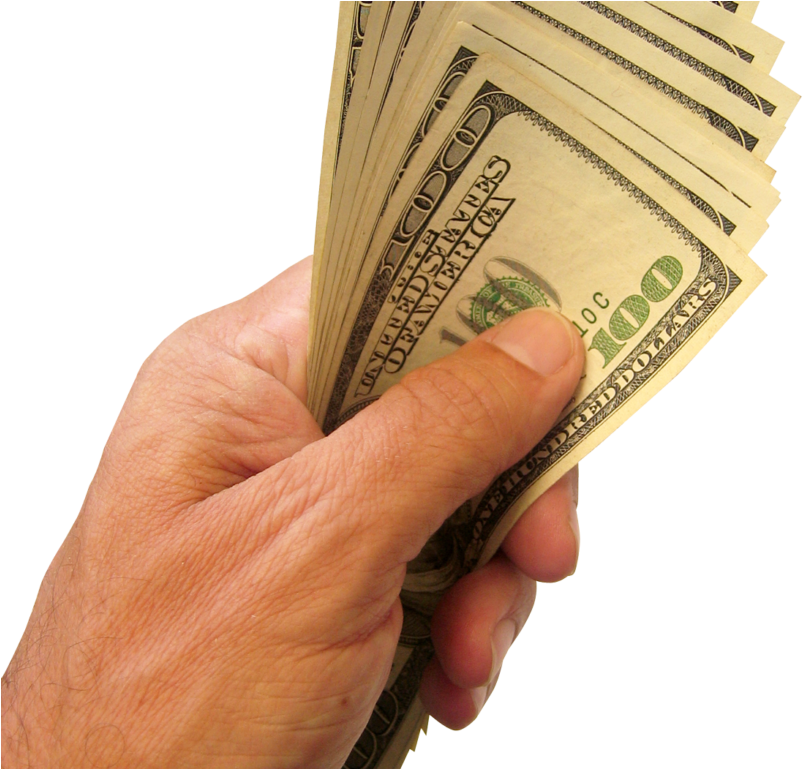 Cash In Hand Png.