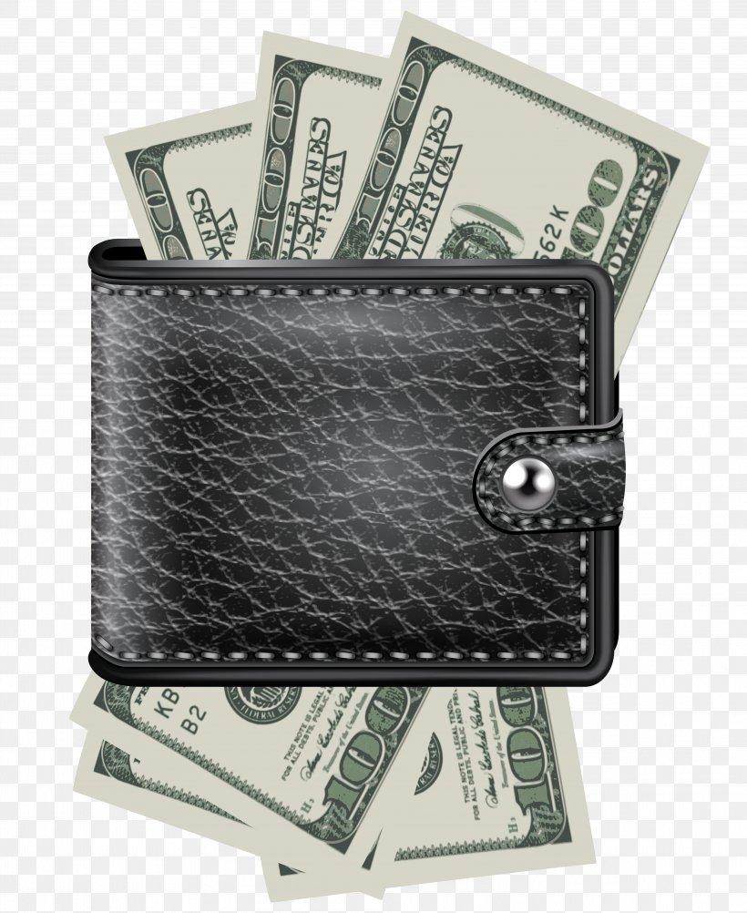 Wallet Money Clip Art, PNG, 3838x4694px, Wallet, Banknote.