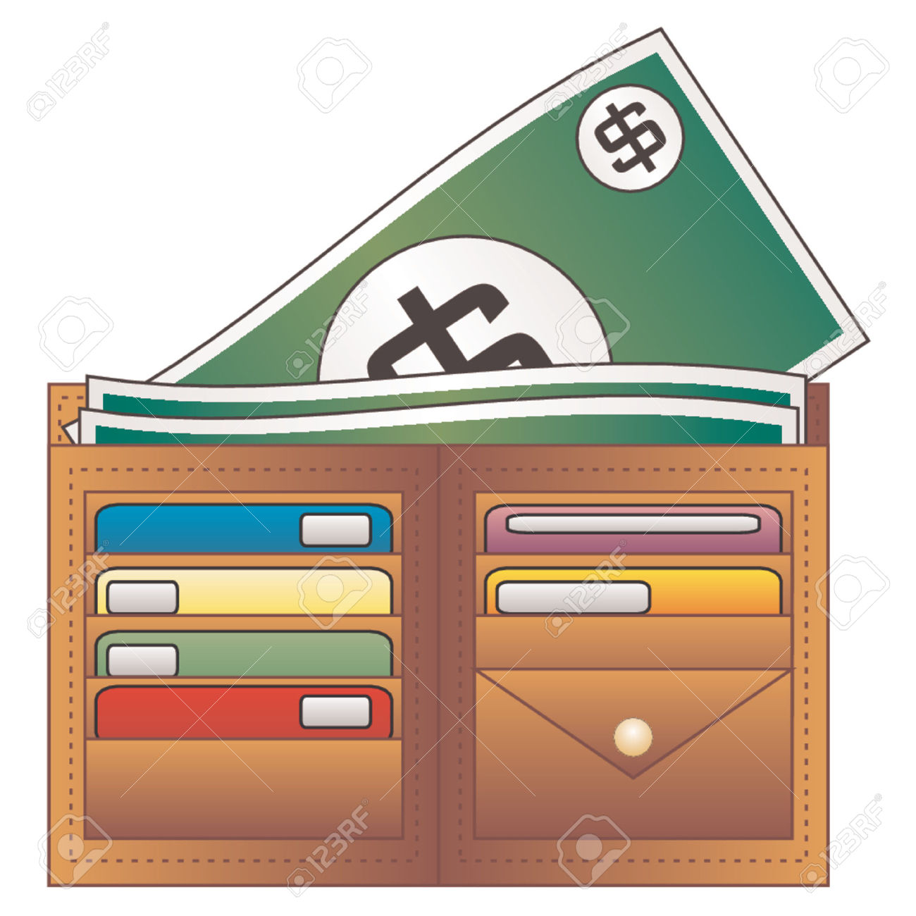 Money Wallet Clipart (42+).