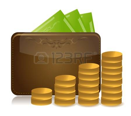 23,081 Money Wallet Stock Vector Illustration And Royalty Free.