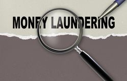 Money Laundering Stock Illustrations.