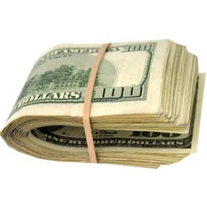 Stacks of Money Clip Art.