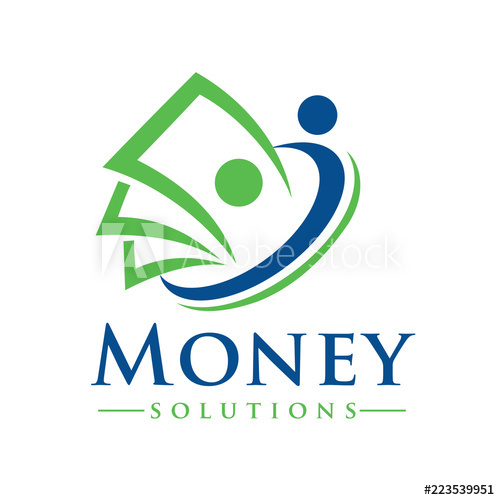 Money and Billing Solutions Logo Design Inspiration Vector.
