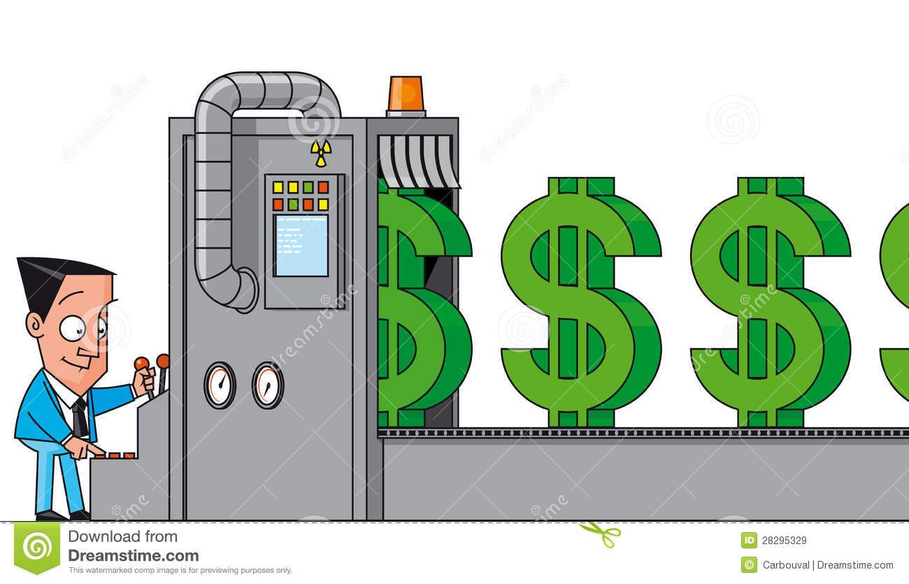 Money Stock Illustrations.