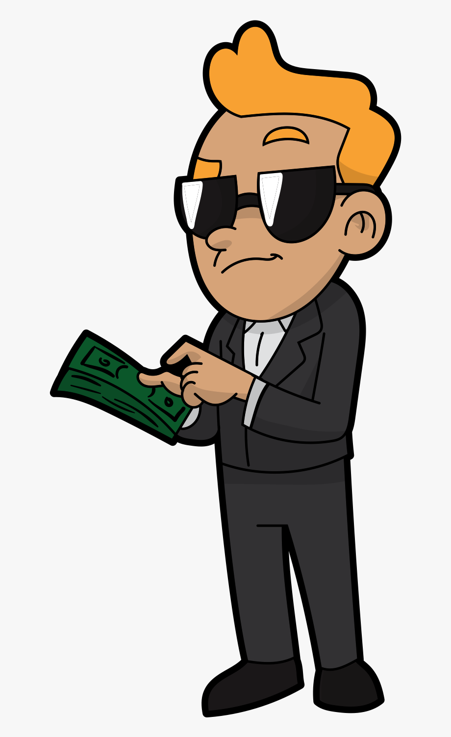 Make Money Clipart Money Man.