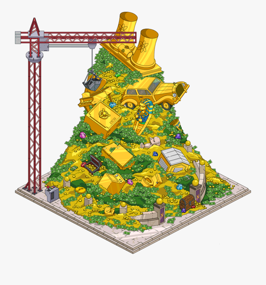 Transparent Money Pile Png.