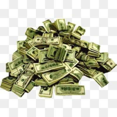 Money Pile PNG Images.