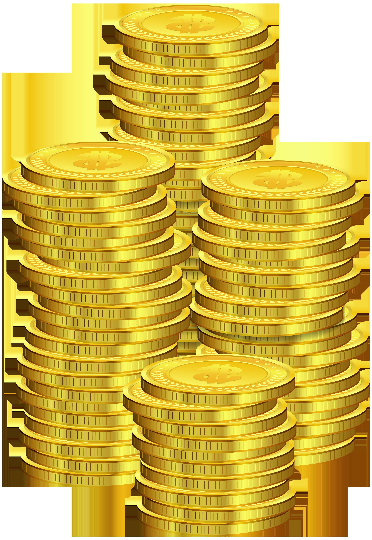 Coins PNG Clip Art.