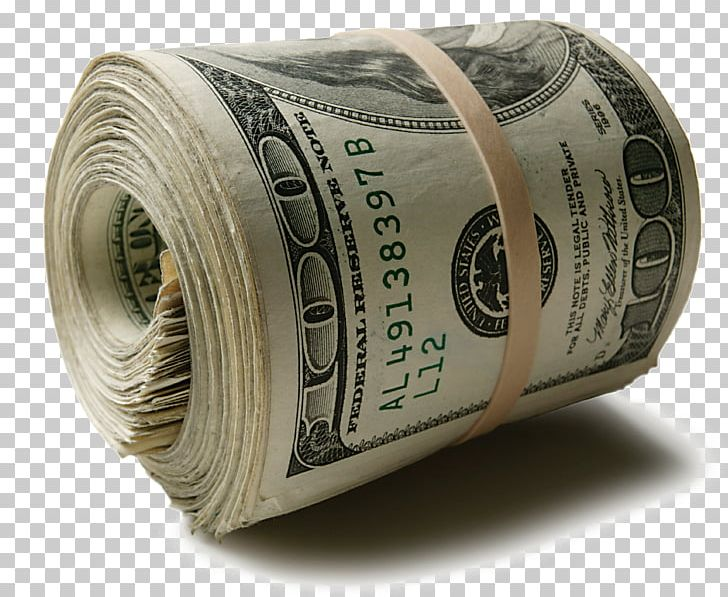 Money Management Investment Dollar Roll Currency PNG.