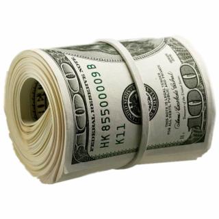 money #wad #green #lifelike #real.