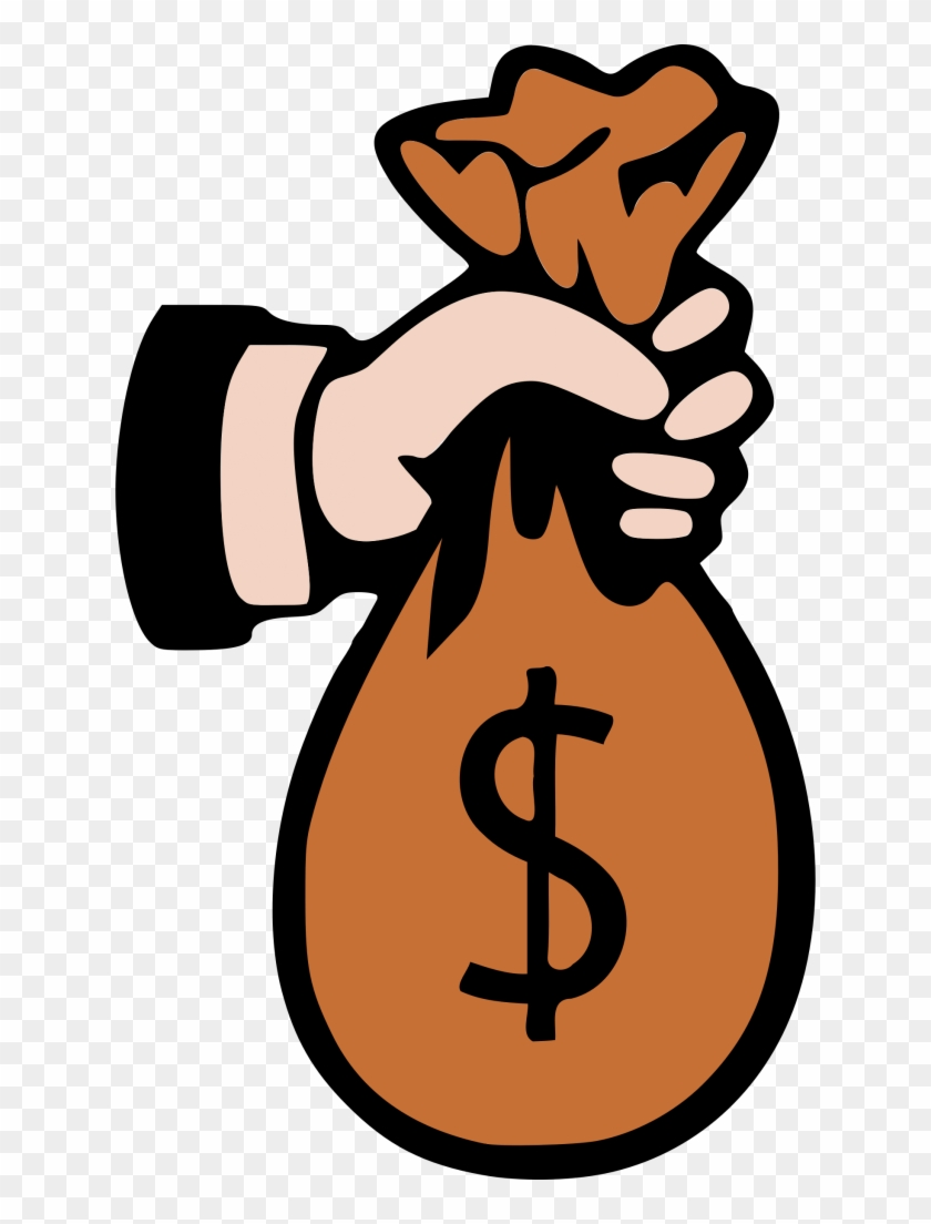 Sack Of Money Clipart.