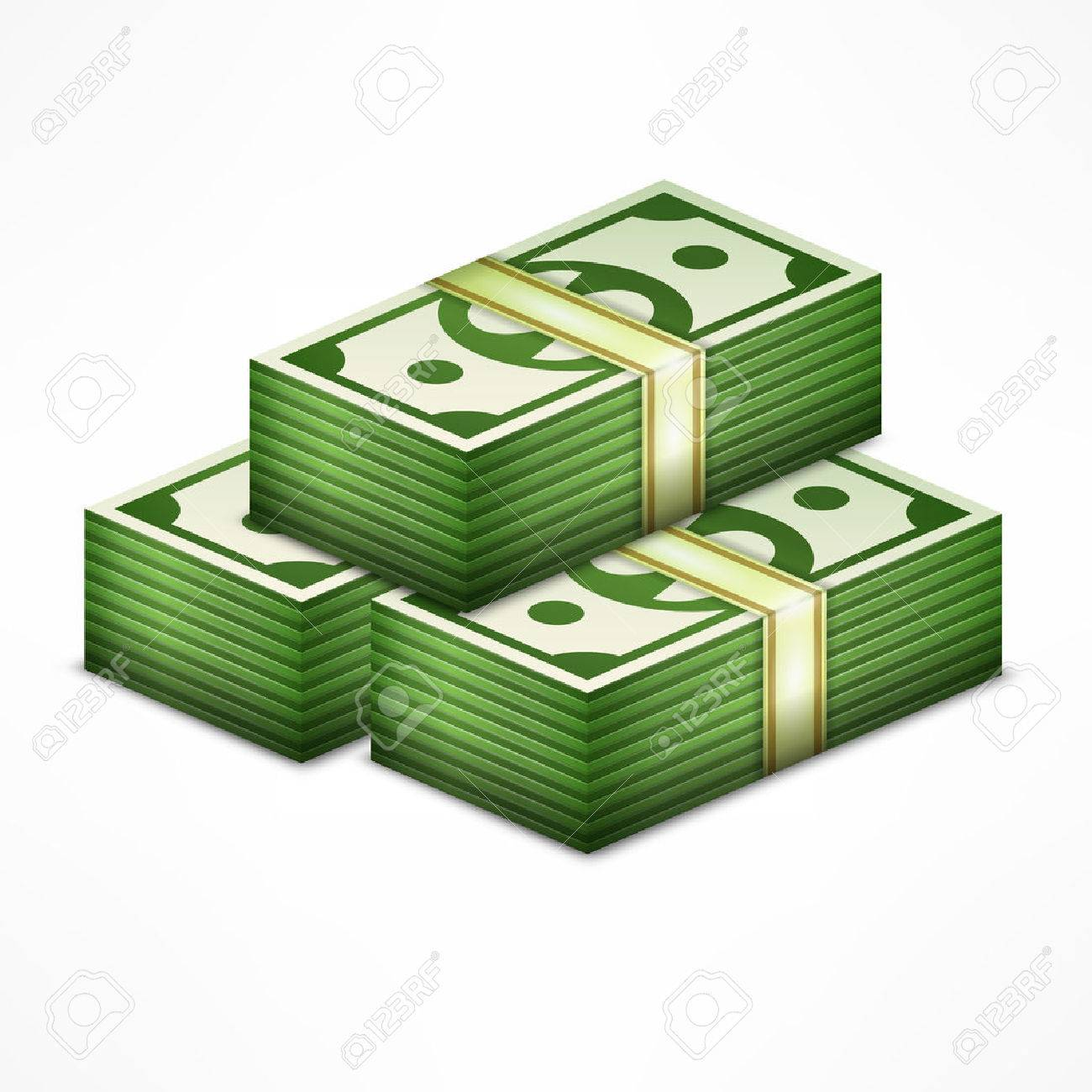 Clipart money stack 3 » Clipart Station.