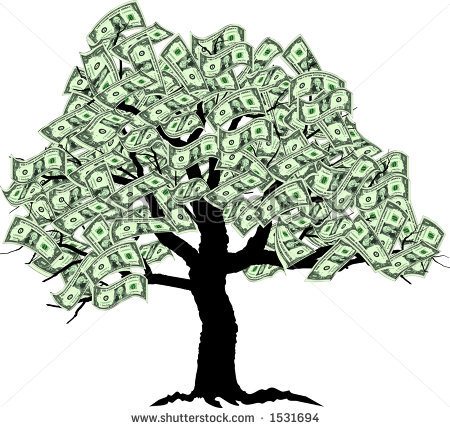 Money Tree Free Clipart Copyright Free.