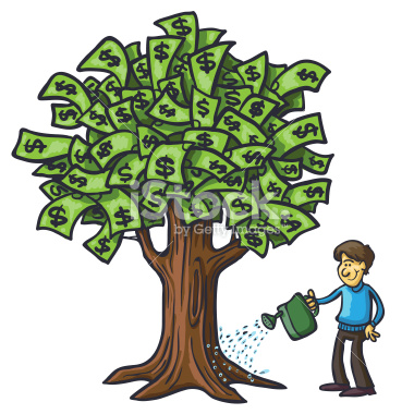 Money Tree Vector.