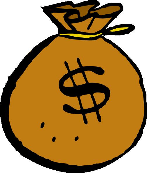 Money Bag Clip Art.