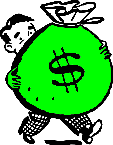 Money Bag Clip Art.