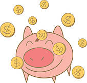 Money Box Clip Art.