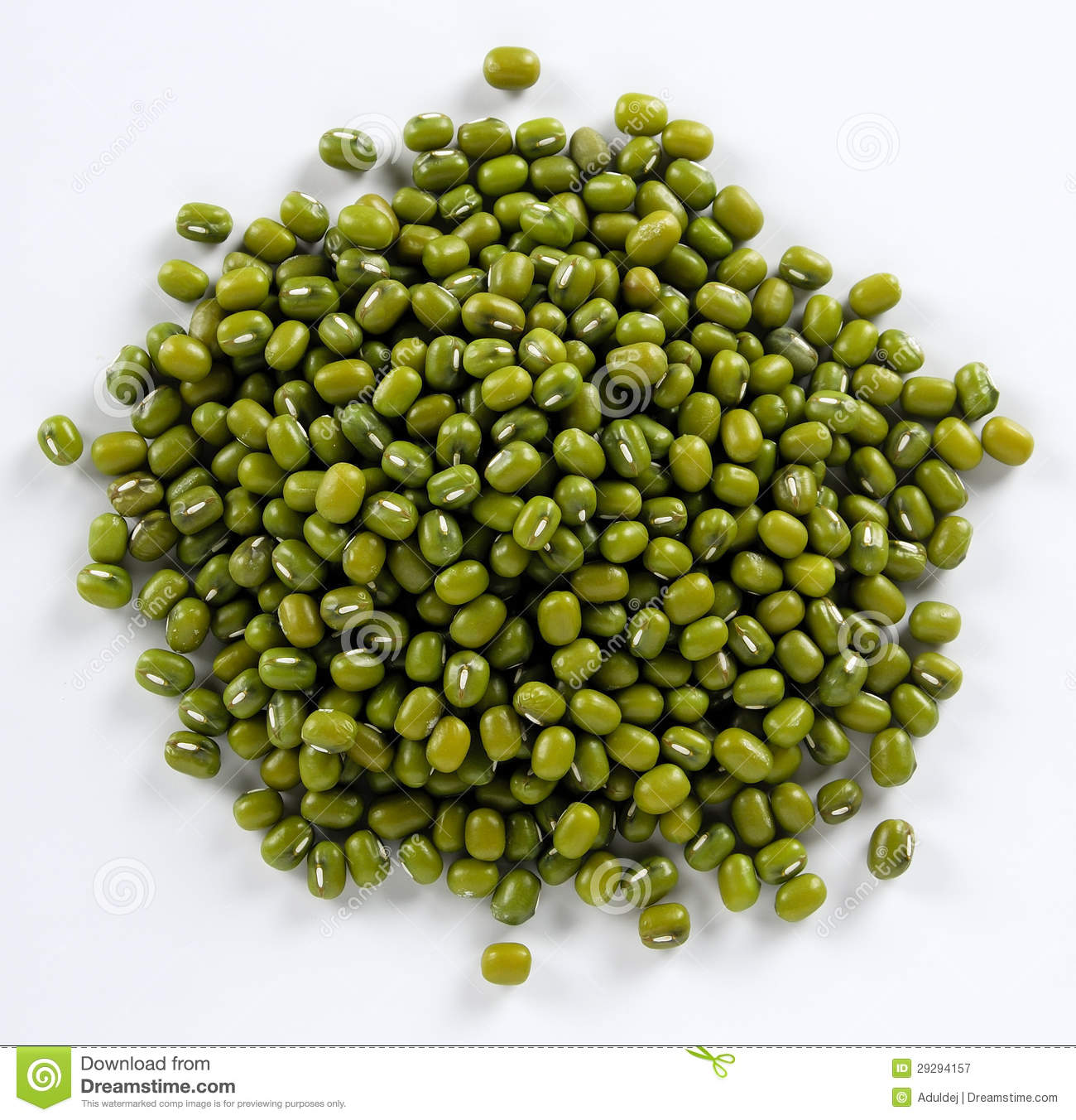 Mung Beans Royalty Free Stock Photography.
