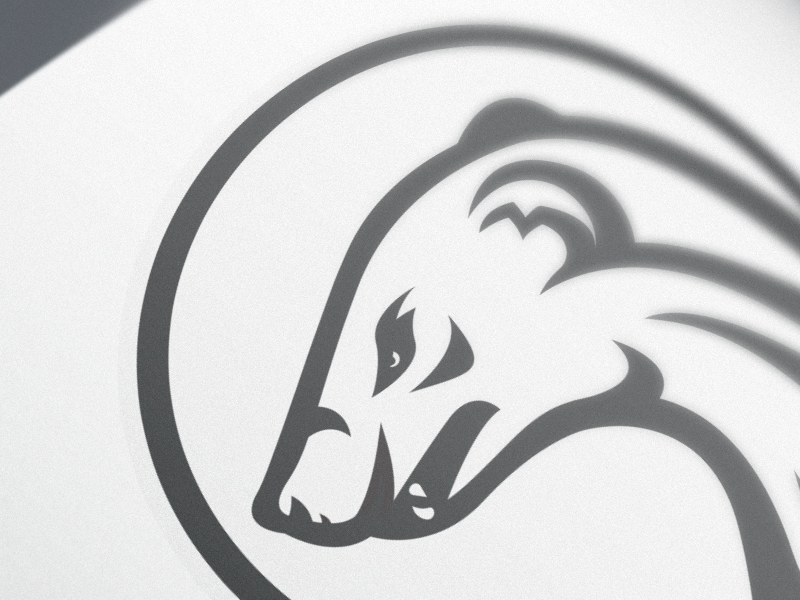Mongoose Logo by Christiana Guzmán for Handsome on Dribbble.