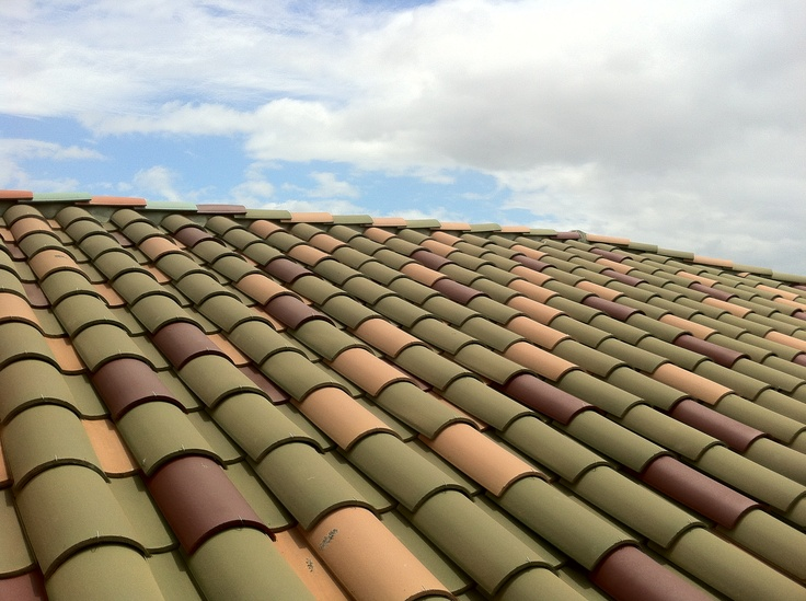 Roofing Tiles: Monier Tile Roof.
