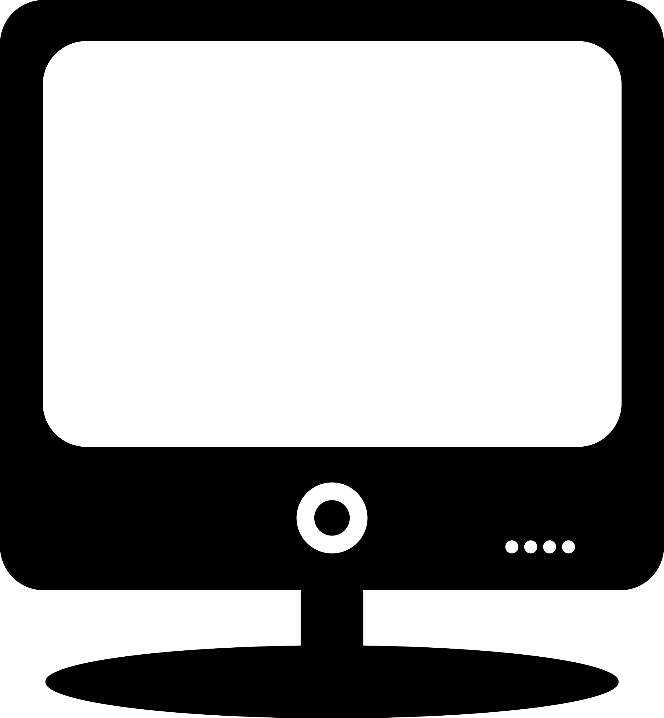 Clipart of computer monitor.