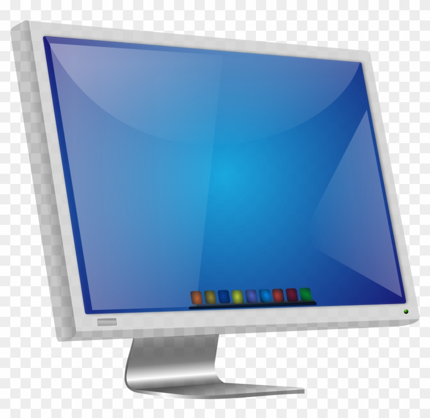 Clip Art Linux Lcd Big Image Png.
