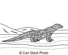 Monitor lizard Vector Clipart EPS Images. 39 Monitor lizard clip.