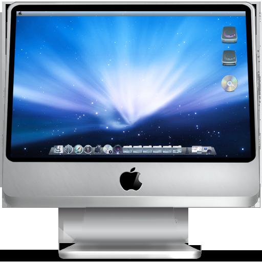 Apple, computer, imac, mac, monitor, screen icon.
