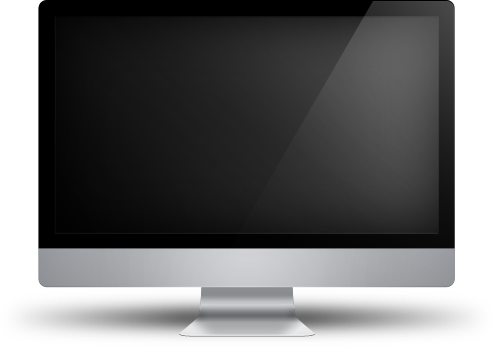 Monitor PNG Pic.
