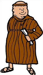 Free Monk Clipart.