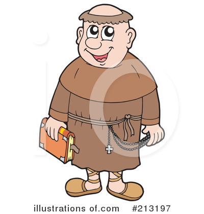 Monk Clipart #213197.