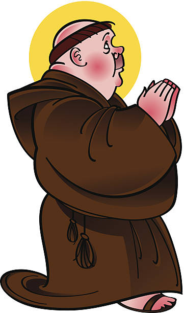 Catholic Monk Background Clip Art, Vector Images & Illustrations.