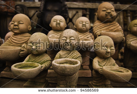 Zen Monk Stock Photos, Royalty.