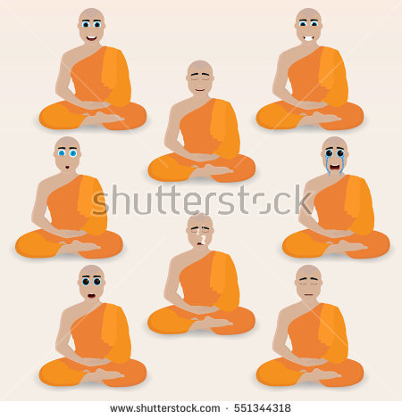 Monk Stock Photos, Royalty.