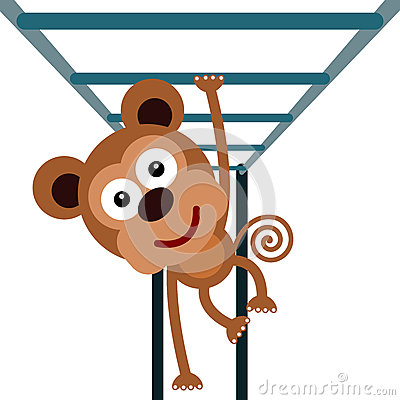 Monkey Bars Stock Illustrations.