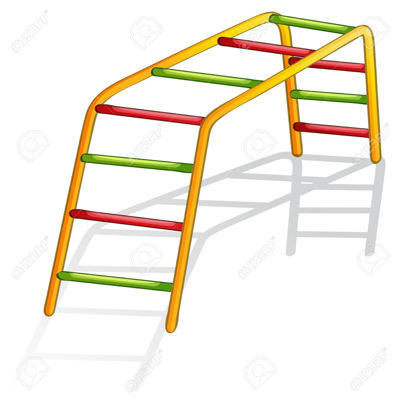 Clipart monkey bars.