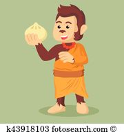 Monkey bread Clipart and Illustration. 11 monkey bread clip art.